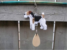 Wire Fox Terrier dog crate tag, kennel art or h... - $14.00