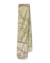 Vintage South West USA Map Fleece Scarf - $39.99+