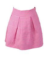 Petite Gateau Womens Barbie Pink Flirty High Waist Mini Stretch Skirt Sz XL - $14.84
