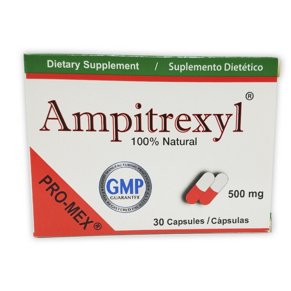 ProMex Ampitrexyl Natural Immune Support, Dietary Supplement. 500 mg, 30 Caps. - $91.59