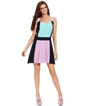 Betsey Johnson Colorblock Cocktail Party Spring Wedding Dress 10 - $28.49