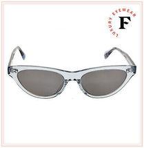 Oliver Peoples ZASIA 5379 Light Denim Blue Vintage Glass Sunglasses OV5379SU image 3
