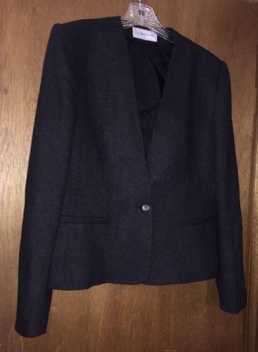 Evan Picone Women's Wool Blazer size 14