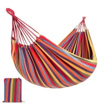 Best Choice Products 2-Person Brazilian-Style Cotton Double Hammock Bed W/ Porta - $67.98