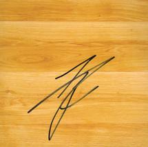Tyson Chandler Signed 6x6 Simulated Basketball Floor - $9.99