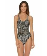 Dolce Vita Women's Jungle Beat Macrame One Piece Tank Swimsuit (Whipped, S) - $99.90