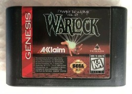 Beware The Ultimate Evil of Warlock (Sega Genesis 1994) AUTHENTIC Game C... - $7.90