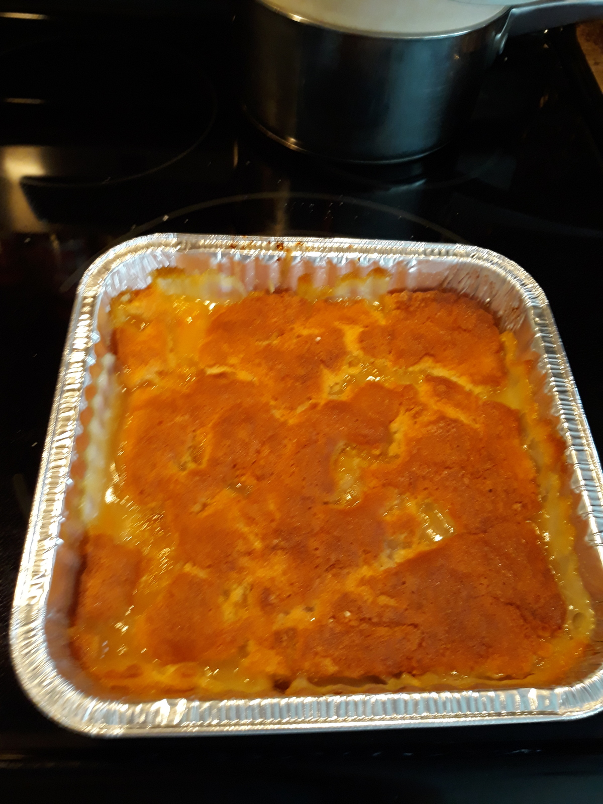 Primary image for Homemade peach cobbler