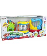 Liberty Imports Musical Instrument Toys, 3 in 1 Toddler Electronic Music... - $14.82