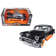 1955 Buick Century Harley Davidson Black / Orange 1/26 Diecast Model Car... - $40.66