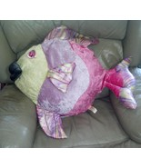 "Dan Dee Collectors Choice Large Colorful 30"" Angel Fish Stuffed Plush Toy - $19.97"