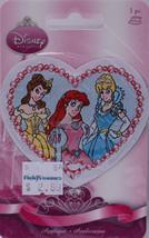 Wrights Disney Princesses Belle Ariel Cinderella Iron-On Applique Badge ... - $2.99