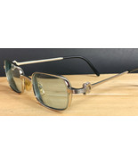 Vintage Cartier Silver tone Metal Eyeglass Frames Paris 48-21-135 - $771.15