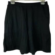 Laura Scott Women's Knit Pull-On Shorts Size Small Black New - $12.99