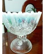 Vintage opalescent carnival glass - $25.00