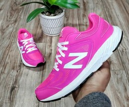 New Balance 519 Womens Size 5.5 (4Y) Pink Running Shoes - $54.44