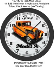 1930 Ford Model A Street Rod Wall Clock-Free US Ship, Choose 1 of 4 - $27.71+