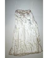New NWT $350 Designer Josie Natori Silk Lace Womens S Chemise Gown Night... - $256.75