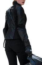 Womens Ilsa Faust Mission Impossible Fallout Rebecca Ferguson Leather Jacket image 3