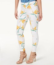 Women' Tropical Floral Simply Stretch Skimmer HUE  Leggings Size S - $8.01