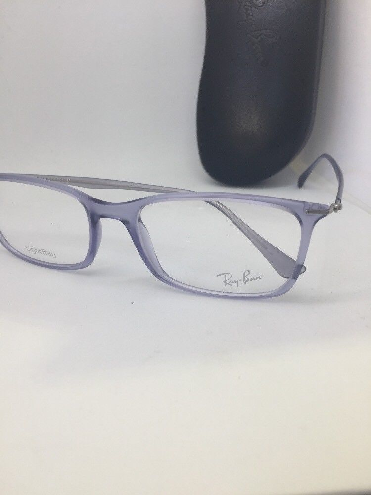 eef1d729ad New Authentic Ray Ban RB 7031 5401 Matte Violet LightRay RX Eyeglasses 55mm