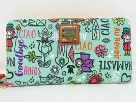 Disney Dooney and & Bourke It's A Small World 2021 Wallet Wristlet 55th ... - $197.99