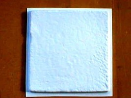 "#1130 Rustic Finish 12"" Concrete Tile Molds (3) Make 100s of Stone Floor Tiles image 1"