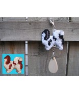 Japanese Chin dog crate tag or hang it anywhere, spaniel handmade, color... - $15.00