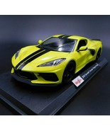 2020 Chevrolet Corvette C8 Stingray Yellow Die Cast 1/18 Maisto Special Edition - $29.99
