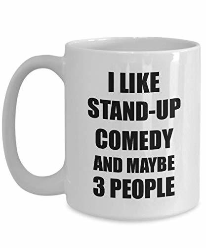 Primary image for Stand-up Comedy Mug Lover I Like Funny Gift Idea for Hobby Addict Novelty Pun Co