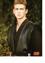 Hayden Christensen teen magazine pinup clipping dressed up ready to perform Bop