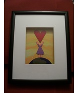 E Moises Diaz-Colorful Abstract Childrens Shadow Box Framed Wall Artwork... - $29.99
