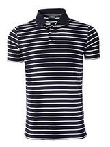Chervo Men's Americano Golf Shirts, Trieste Navy, Medium/Large - $78.48