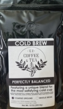 EZ Coffee and Tea Cold Brew Blend Ground Coffee - 2 LB (32 oz) - Freshly Roasted - $29.95