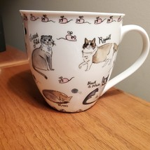 Coffee Mug, Milly Green cat breeds, kittens and mice, cat lady gift, brand new image 5