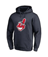 Cleveland Indians Fanatics Navy Chief Wahoo Pullover Hoodie 3XL Official merch - $119.99