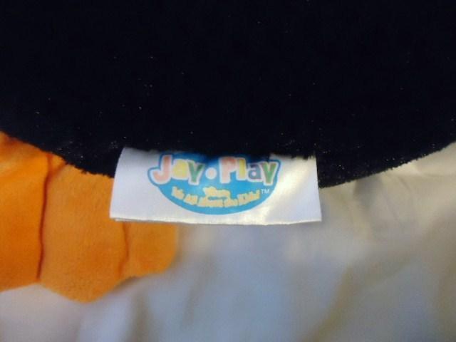 "Jay at Play Microbead Penguin Plush Pillow Diamond Waffle Pattern Fur 24"""