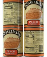 4 Count Musselman's Gluten Free Real Fruit Peach Pie Filling 21Oz BB 8-9... - $34.99