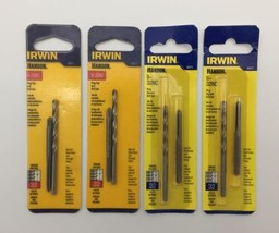 (New) Irwin Hanson 80217  8-32NF Plug Tap &  Drill Bit Set Pack of 4 - $30.68