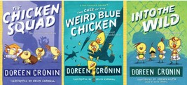 The Chicken Squad Series Paperback Collection Set Books 1-3 by Doreen Cr... - $21.99