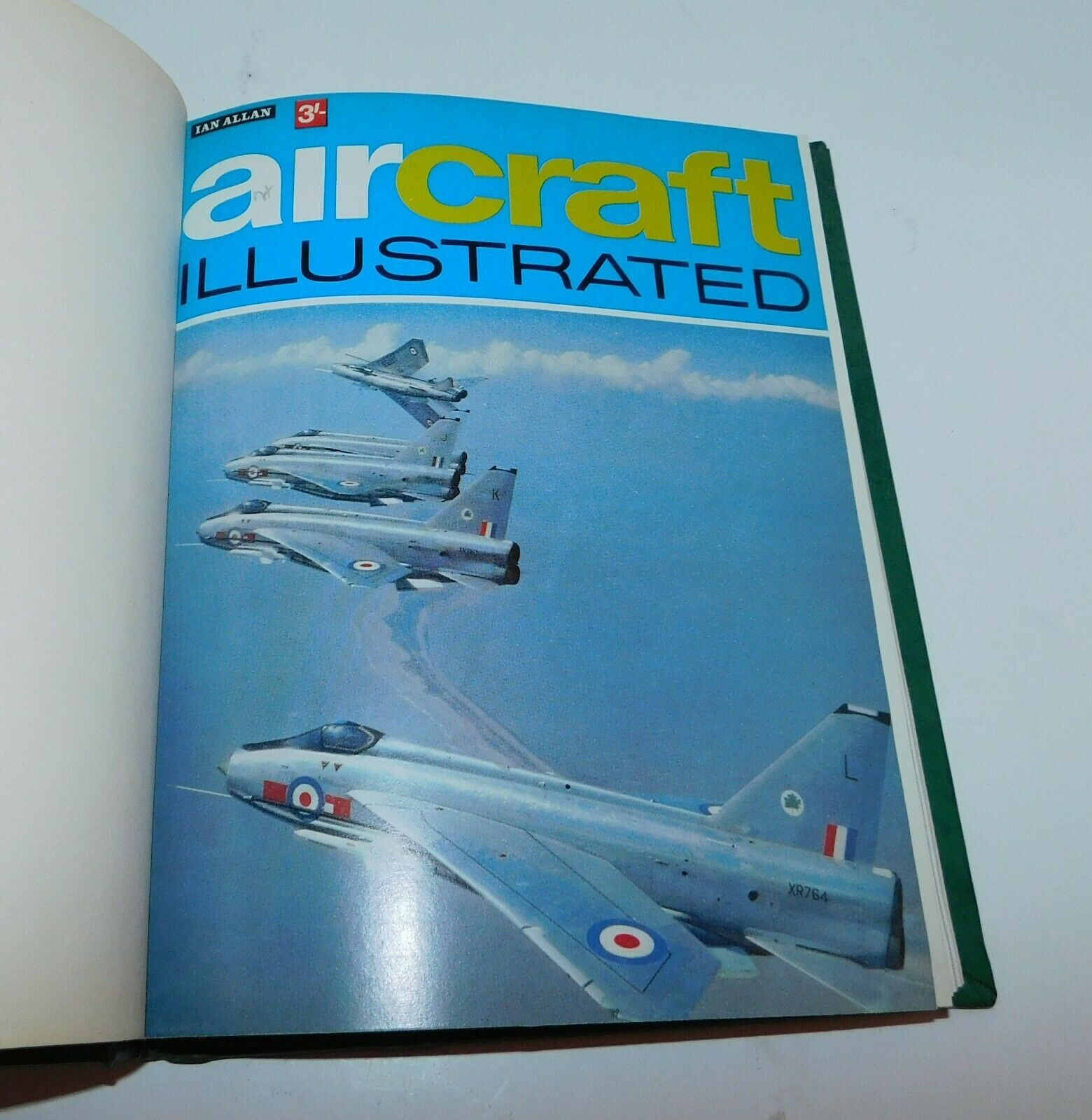 Primary image for AIRCRAFT ILLUSTRATED 1st 6 Issues 1968 Hardbound Military Jets, Bombers Aviation
