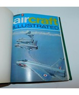 AIRCRAFT ILLUSTRATED 1st 6 Issues 1968 Hardbound Military Jets, Bombers ... - $29.02