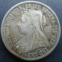 Great Britain, 1899 Shilling, Extra Fine - $35.00