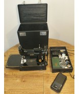1948 SINGER FEATHERWEIGHT 221-1 SEWING MACHINE Excellent in Case with Keys - $632.20