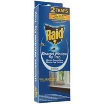 Raid 2 Pack Discreet Window Fly Trap - $15.49