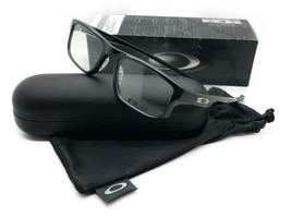 New Authentic Oakley OX8049-0253 Black Ink Voltage Eyeglasses 53mm w/Oak... - $106.67