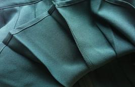 Women Girls Campus Style Pleated Mini Skirt School Skirt, Black White, Plus Size image 11