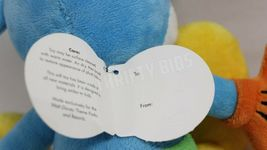 """Disney Parks 10"""" Blue Yellow Mickey Mouse Stuffed Plush Toy With Original Tags image 8"""