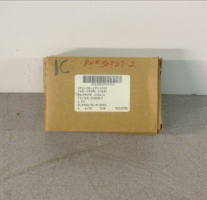 Microwave Filter Company 2510-1 505527-2 Tuneable filter 15w 116-150 MHz