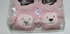 Baby Snoozies 1300Pood Pink Poodle Cozy Little Sherpa Booties Size 3 to 6 Months image 2
